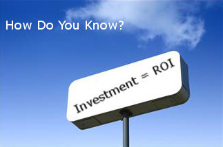 How do you know Investment = ROI