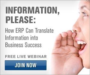 ERP webinar