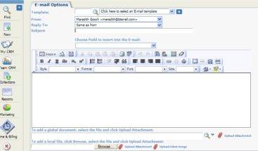 Send Email SageCRM