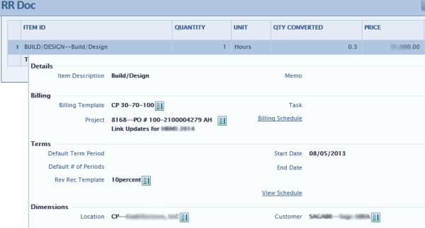 Intacct: Invoicing and Revenue Recognition