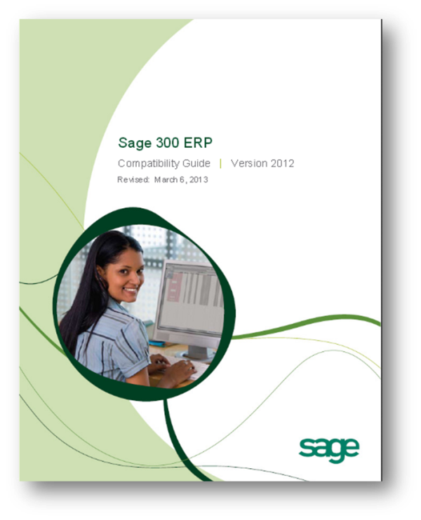Sage 300 ERP 2012 Compatibility Guide
