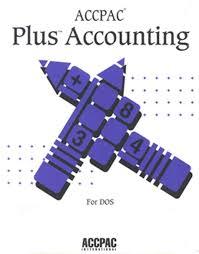 AccPac Plus Accounting 1987