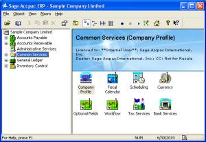Sage Accpac ERP 2006