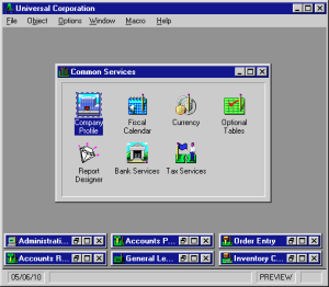 Computer Associates Accpac/2000 1994