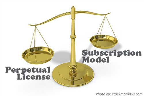 Perpetual vs Subscription Pricing for ERP