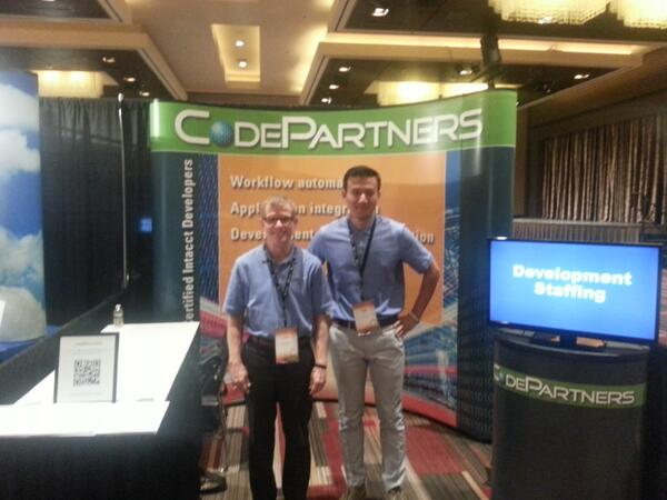 BTerrell Group/CodePartners Booth @ Intacct Advantage 2013