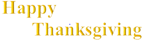 Happy Thanksgiving to all of our clients