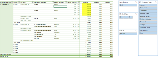 Sage 300 ERP: Transaction History Report Using PowerPivot