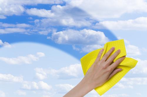 Cloud washing