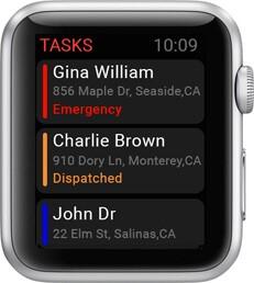 Apple Watch Dispatcher