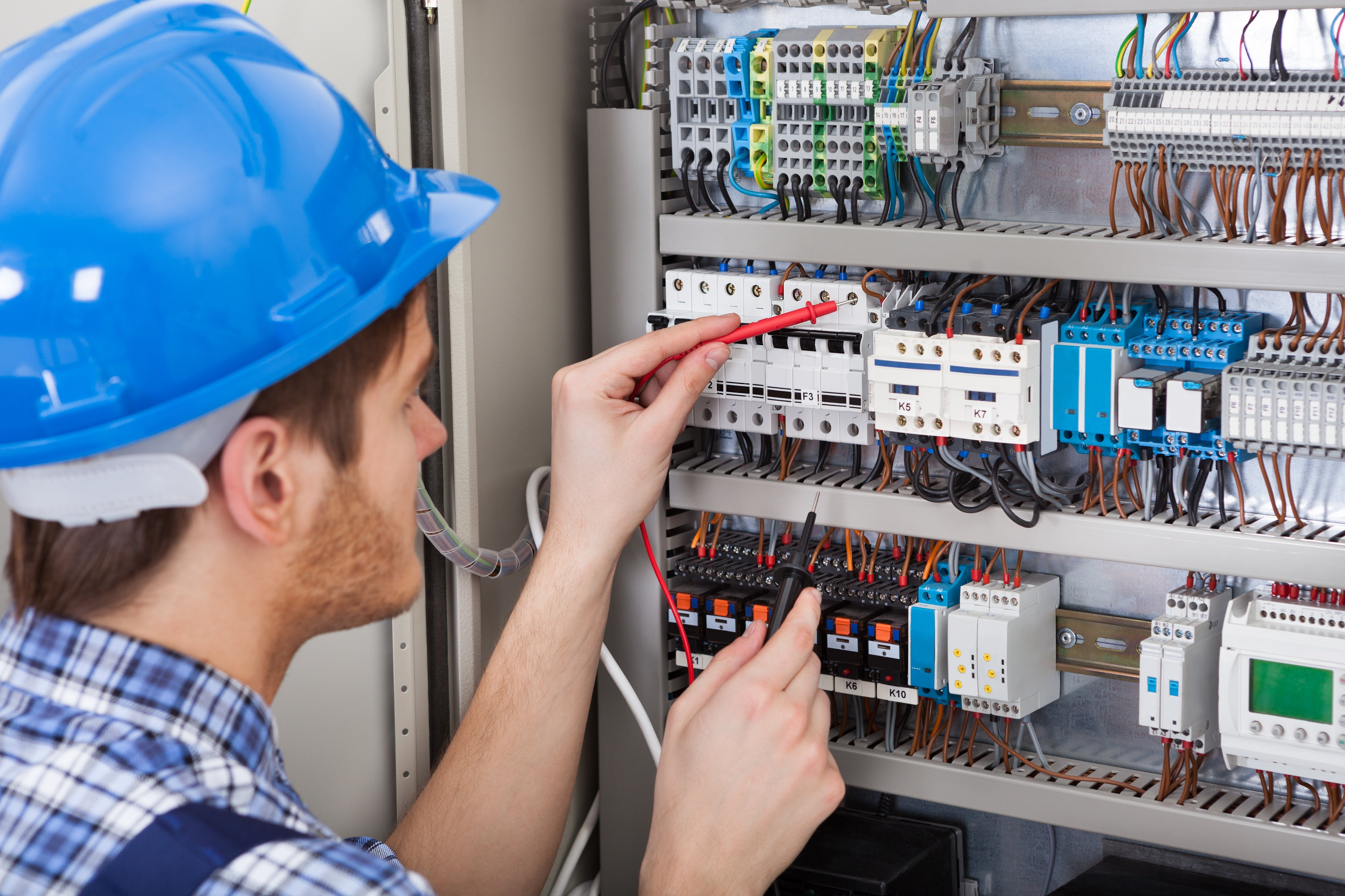 Engineer with Electrical Box Field Services