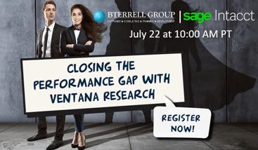 Webinar: Closing the performance gap with Ventana Research